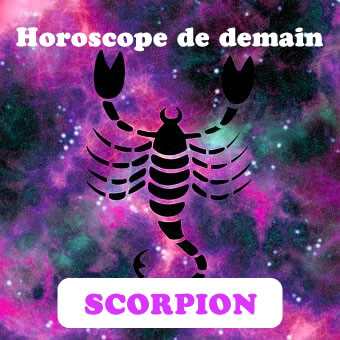 horoscope de demain du scorpion. Black Bedroom Furniture Sets. Home Design Ideas