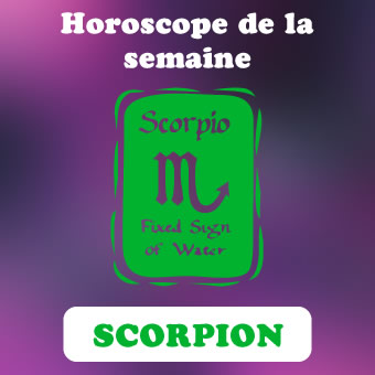 horoscope de la semaine scorpion
